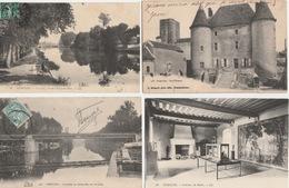 18 / 4 / 389  -  LOT  DE  10  CPA   &  1  CPSM   DE  NEMOURS  ( 77 )  Toutes Scanées - Cartes Postales