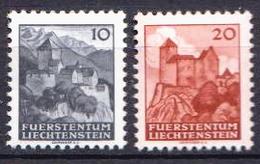 Liechtenstein MH Set - Châteaux