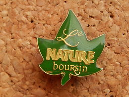 Pin's -   BOURSIN NATURE - Food
