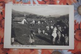 Africa MISSIONI  In Kenya / Old Vintage Postcard  - Caravana - Aborigens - Kenya