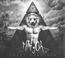 MAGOA - Topsy Turvydom - CD - METAL - Hard Rock & Metal