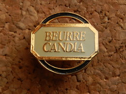 Pin's -   BEURRE CANDIA - Food