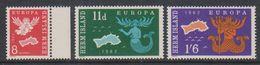 Europa Cept 1962 Herm Island 3v ** Mnh (38337C) - 1962