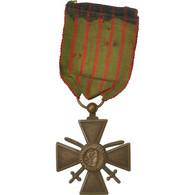 France, Croix De Guerre, Médaille, 1914-1917, Good Quality, Bronze, 37 - Militaria