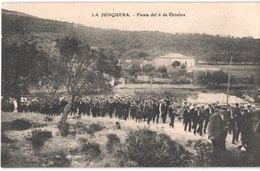 ES LA JUNQUERA - LA JONQUERA - Fiesta Del 6 De Octubre - Animée - Belle - Gerona