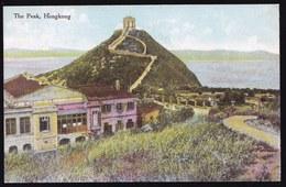 VINTAGE OLD CARD CPA ** HONGKONG  - THE PEAK - PERFECT CONDITION ! RARE THIS ONE ! - Chine (Hong Kong)