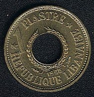 Libanon, 1 Piastre 1955, UNC - Lebanon