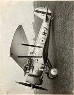 1927    BRISTOL BULLDOG DEMONSTRATOR   MPNOPLACE DE CHASSE    24 * 19 CM Aviation, AIRPLAIN, AVION AIRCRAFT - Aviación