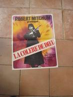 AFFICHE FILM LA COLERE DE DIEU ROBERT MITCHUM FT 42X53 - Affiches & Posters