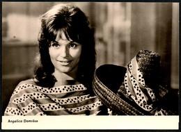 B3189 - Angelica Domröse - Autogrammkarte Autogramm - Starfoto - Progress Film Vertrieb - Autographs