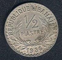 Libanon, 1/2 Piastre 1936 - Lebanon