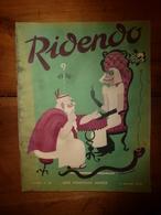 1938 RIDENDO ---> Grivoiseries ,Pauline Carton Se Balance De La Mode;etc - Books, Magazines, Comics