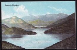 VINTAGE OLD CARD CPA ** HONGKONG  - RESERVOIR - PERFECT CONDITION ! RARE THIS ONE ! - China (Hongkong)