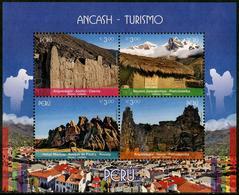 Peru (2017) - Block -   /  Heritage - Archeology - Archeologie - Arqueologia - Ancash - Tourism - Archeologie