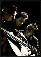 B3193 - Scheffel Trio - Autogrammkarte Autogramm - DTVL - DDR 1956 - Autographs