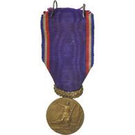 France, Union Des Amicales Laïques Du Nord, Médaille, Très Bon état, Bronze - Militaria