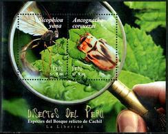 Peru - Perou (2017)  - Block - /  Insectes - Insects - Otros