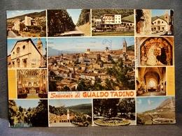 (FG.B30) Souvenir Di GUALDO TADINO - VEDUTE VEDUTINE (PERUGIA) VIAGGIATA 1980 - Perugia