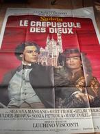 AFFICHE FILM LE CREPUSCULE DES DIEUX LUCCHINO VISCONTI ROMY SCHNEIDER HELMUT BERGER  FT 120X160 - Affiches & Posters
