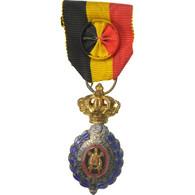 Belgique, Médaille Du Travail 1ère Classe Avec Rosace, Médaille, Excellent - Militaria