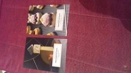 Lot 2 Cartes Postales Printemps Du Gout Tbe Gateaux Marche & Degustation Haussman Paris - Affiches
