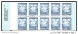 ZWEDEN 1970 Postzegelboekje Nobel 1910 10x 55õre PF-MNH-NEUF - Cuadernillos/libretas
