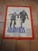 AFFICHE FILM LA GRANDE VADROUILLE LOUIS DE FUNES BOURVIL GERARD OURY FT 42X53 - Affiches & Posters