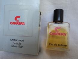 """CARRERA"""" CARRERA"""" MINI  EDT 2 ML LIRE ET VOIR!! - Miniatures Modernes (à Partir De 1961)"""