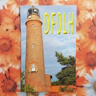 Germany, Vorpommern Lagoon Farol -  Lighthouse  - QSL - Lighthouses
