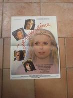 AFFICHE FILM JE VOUS AIME CATHERINE DENEUVE GAINSBOURG FT 42X53 - Affiches & Posters