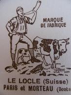 BUVARD CARAMEL MOU KLAUS LE LOCLE SUISSE - Blotters