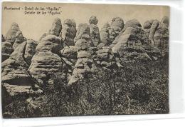 "1 Postcard Barcelona Montserrat - Detall De Las """"Agullas"""" - Barcelona"