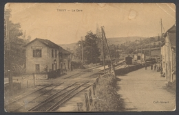 Trivy - La Gare - Edit. Lémonon Frères - Voir 2 Scans - Abîmée - France