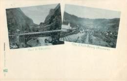 974 - La Réunion - Pont De L'Escalier, Vue D'Hell-Bourg (multivues) - Autres