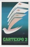 Salon Cartexpo 1984 Paris N°1659 état Superbe - Borse E Saloni Del Collezionismo