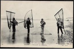 76 DIEPPE Pêcheurs De Crevettes - Dieppe
