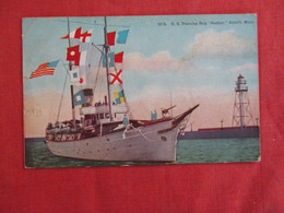 "U.S. Training Ship ""Gopher"" Duluth Minn. Ref 2929 - Warships"
