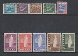 Yvert 171 / 180 * Neuf Charnière Série Complète - 1918-1944 Administration Autonome