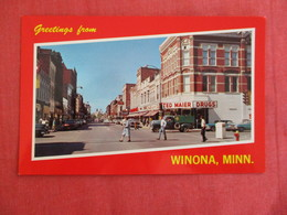 Ted Maier Drugs Store Winona  Minnesota --ref 2929 - United States