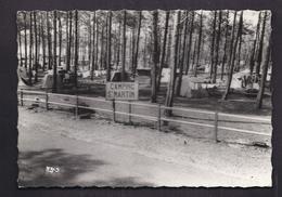 CPSM 40 - MOLIETS-PLAGE - MOLIETS - Camping St. Martin - TB PLAN TENTES Sous Les Pins + Jolie Oblitération 1964 Verso - Altri Comuni