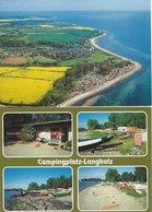 Langholz Und Campingplatz. 2 Cards.  Germany  # 07447 - Germany