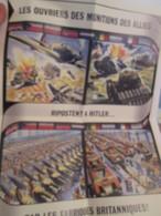 """FAC-SIMILE : AFFICHE DE PROPAGANDE ANGLAISE  """" LES OUVRIERS DES MUNITIONS DES ALLIES ...."""" - Magazines & Papers"""