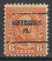 USA Precancel Vorausentwertung Preo, Locals Pennsylvania, Greensburg 638-704 - Vereinigte Staaten