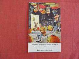 A Lantern Shop In Old   San Francisco Chinatown  California > San Francisco -ref 2929 - San Francisco