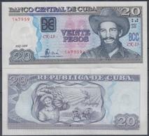 2008-BK-4 CUBA 20$ 2008 CAMILO CIENFUEGOS. UNC. - Cuba