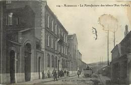 -dpts Div.-ref-YY817- Bouches Du Rhone - Rue Guibal - Manufacture De Tabacs - Manufactures - Industrie - Tabac - - Marseille