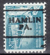 USA Precancel Vorausentwertung Preo, Locals Pennsylvania, Hamlin 701 - Vereinigte Staaten