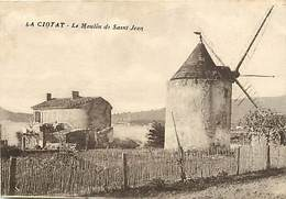 -dpts Div.-ref-YY816- Bouches Du Rhone - La Ciotat - Moulin A Vent De Saint Jean - Moulins A Vent - Voir Etat - - La Ciotat