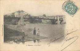 47-239 CPA  CLAIRAC  Le Pont   Belle Carte - France