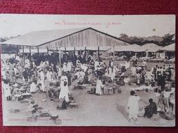 GUINEA / KINDIA - LE MARCHÉ / 1931 - Guinea